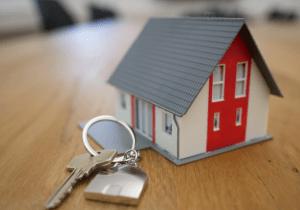 Property house and key
